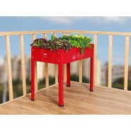Metal Grow Table Rojo