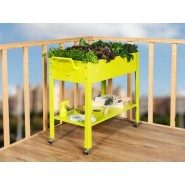 Metal Grow Trolley Amarillo